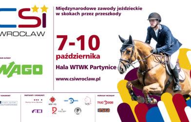 Już wczwartek rozpoczynają się międzynarodowe zawody CSI2*/YH weWrocławiu.